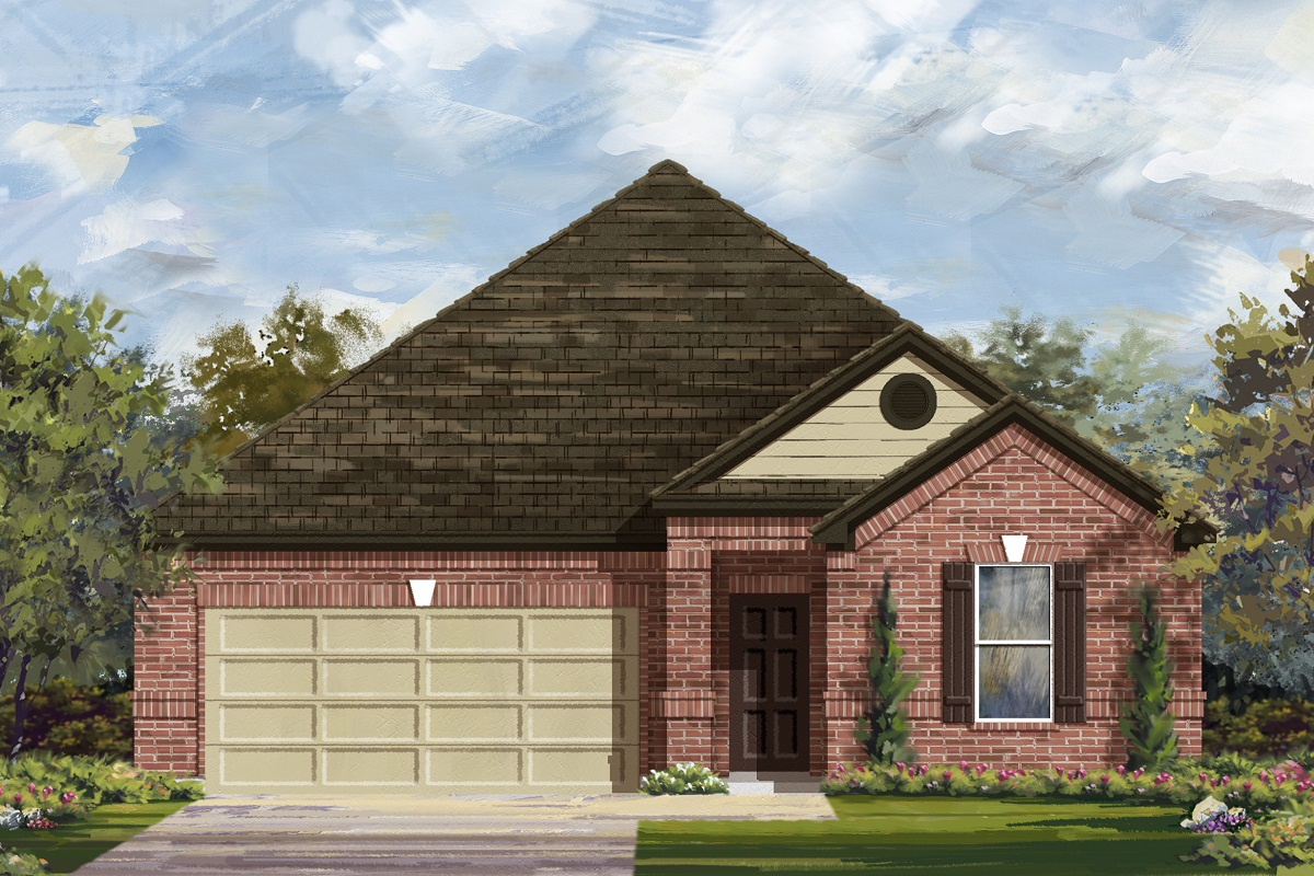 Rendering of a KB home in Belton, TX