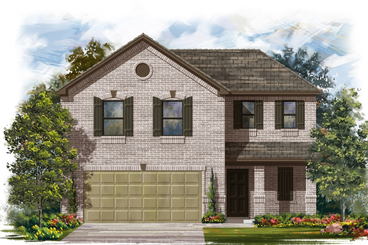 New Homes in Belton, TX - West Canyon Trails Plan 1895 I