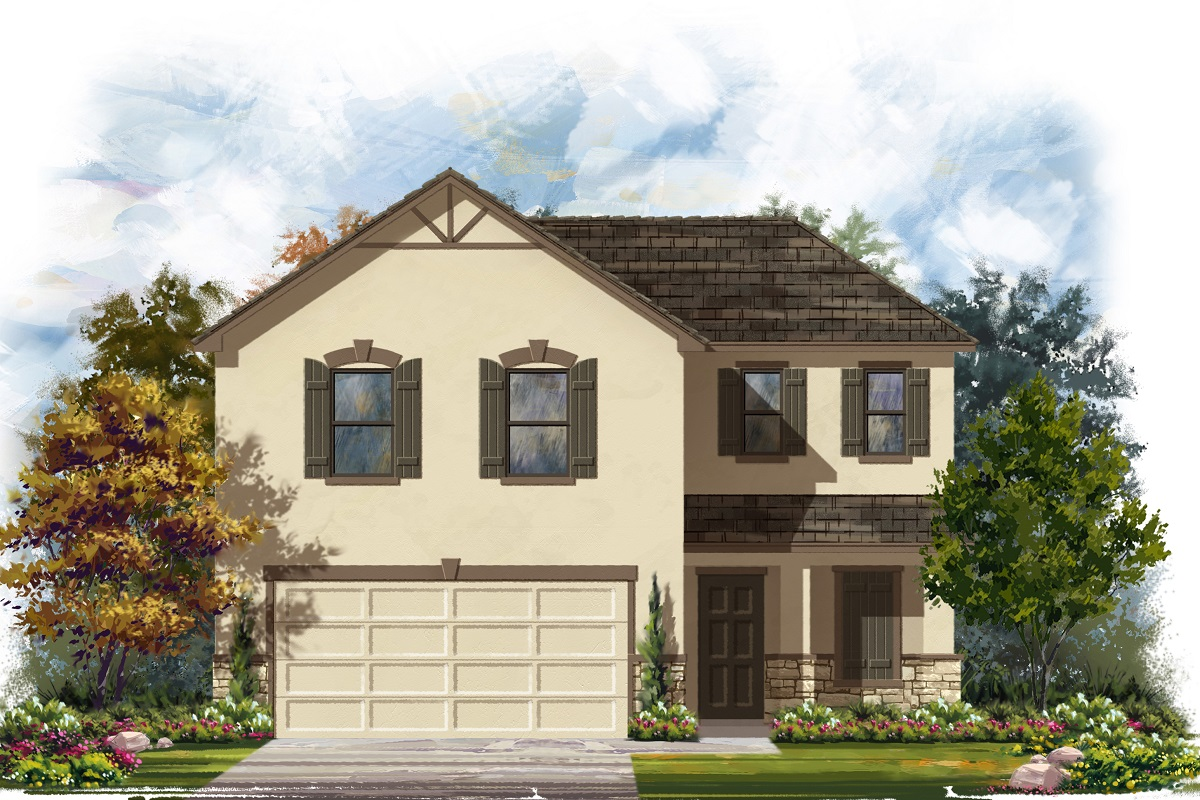 New Homes in Belton, TX - West Canyon Trails Plan 1895 K