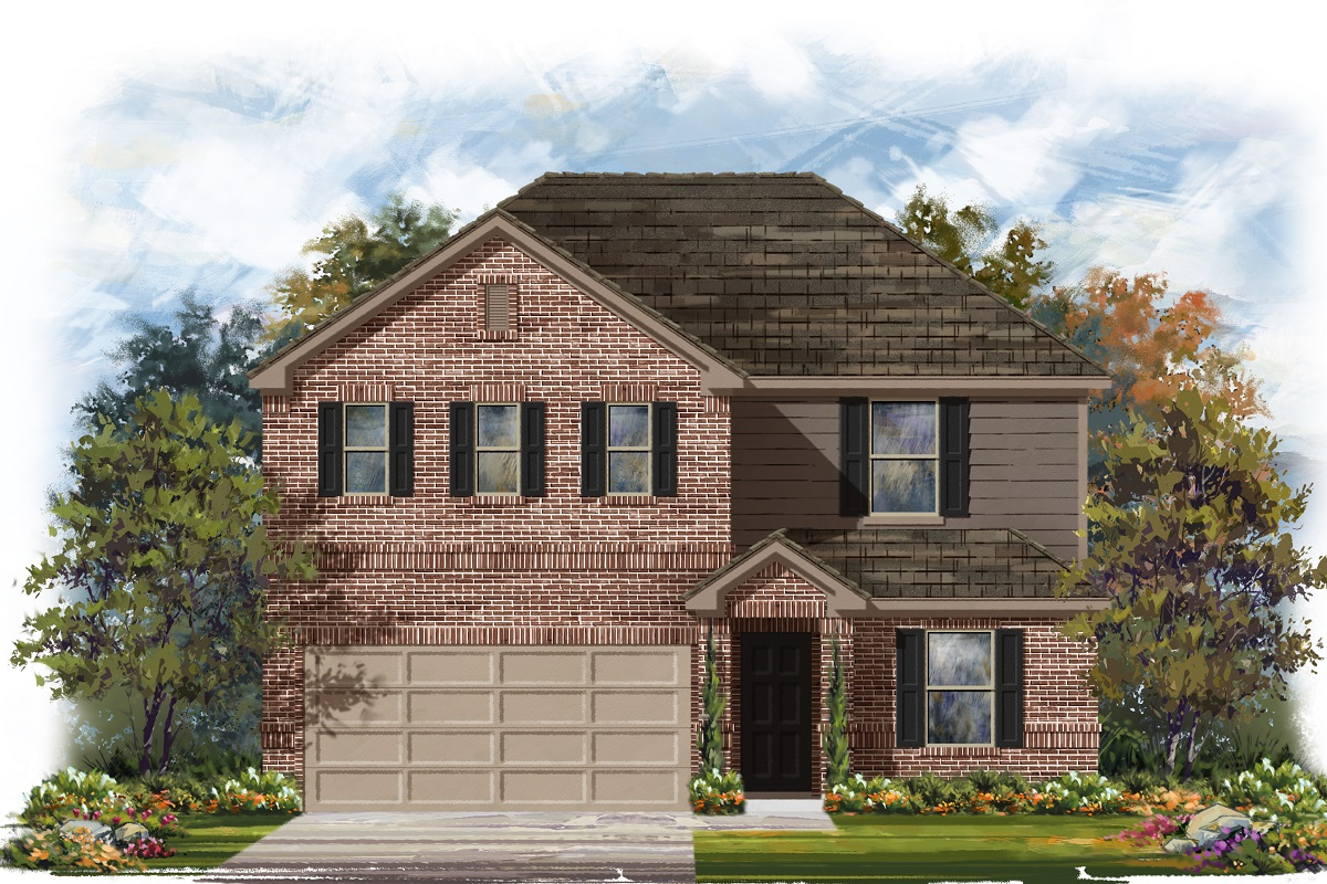 New Homes in Belton, TX - Elevation H