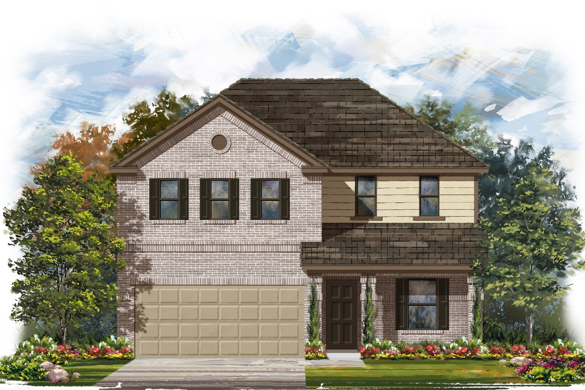 New Homes in Belton, TX - West Canyon Trails Plan 2403 I