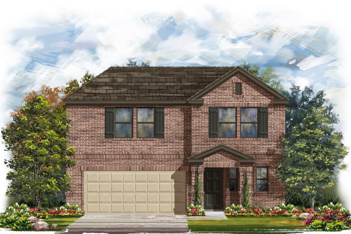 New Homes in Belton, TX - West Canyon Trails Plan 2412 Elevation I