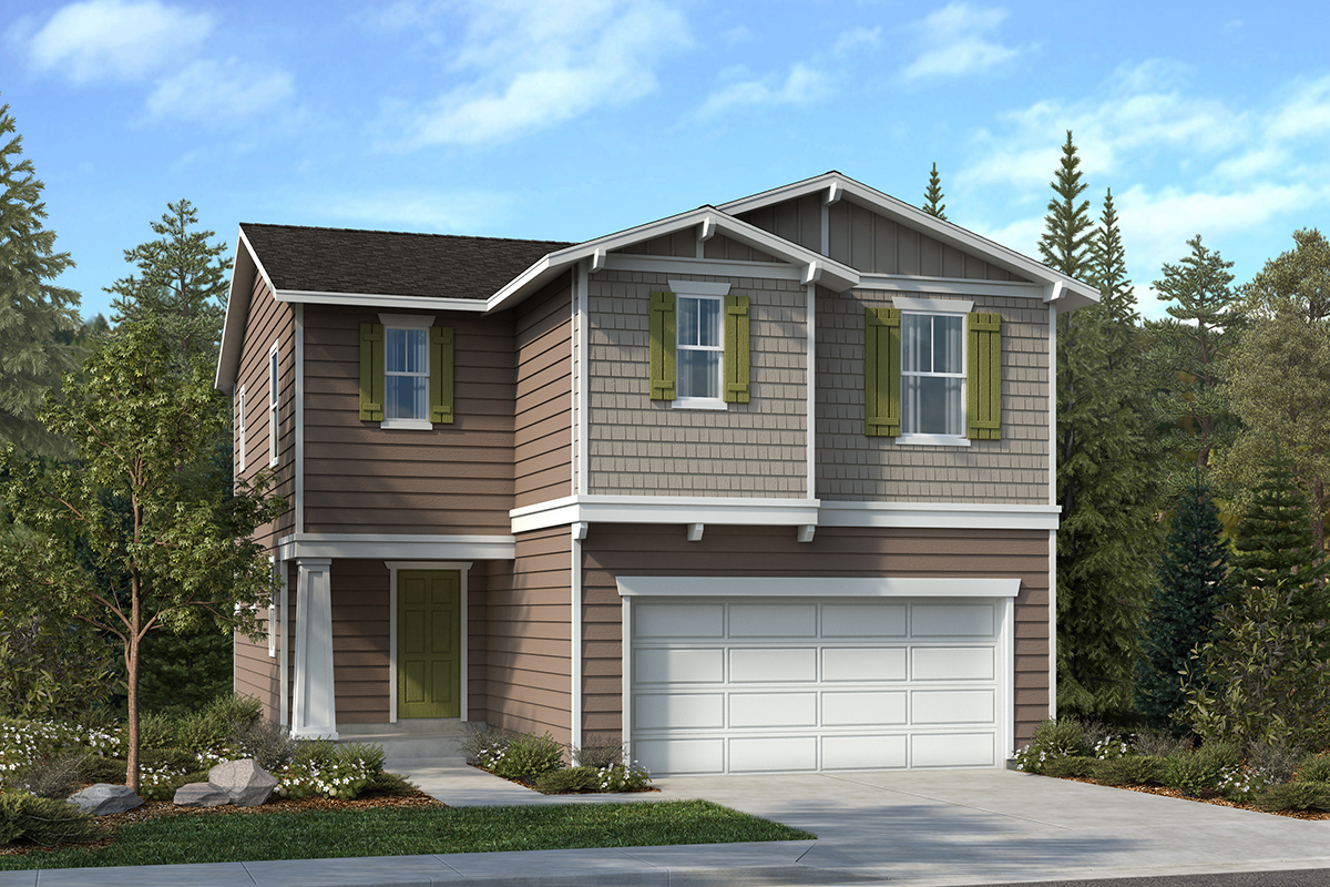 New Homes in Lacey, WA - Elevation B