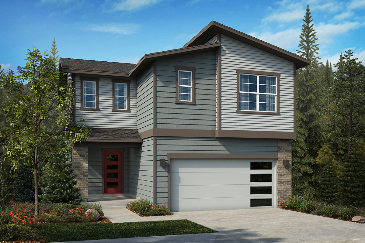 New Homes in Lacey, WA - Elevation D