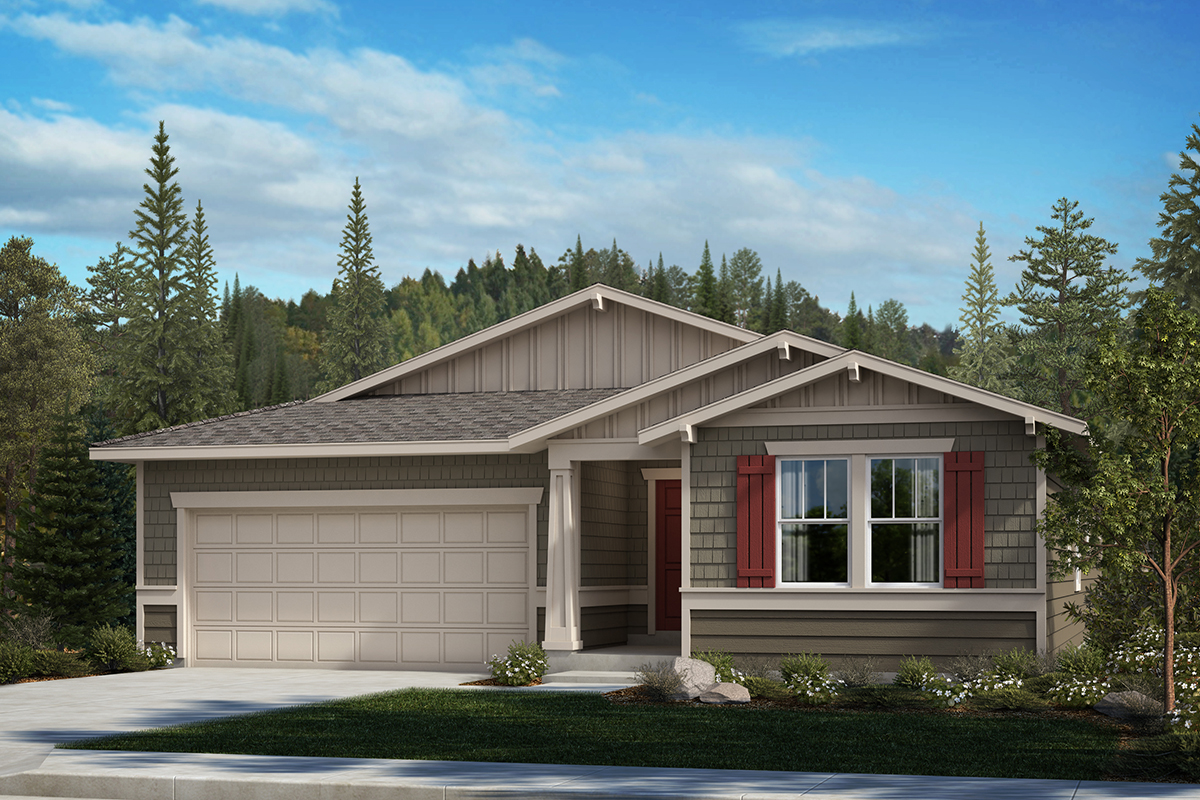 New Homes in Auburn, WA - Aston Park Plan 1857 Elevation B