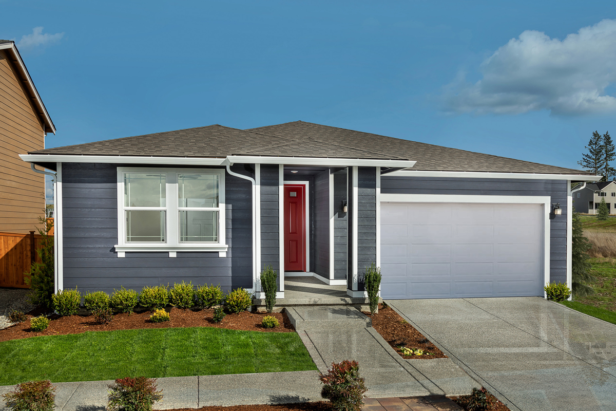 New Homes in Spanaway, WA - Plan 1629 Modeled