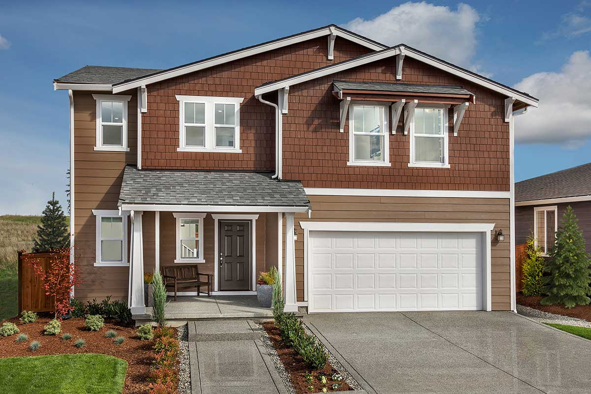 New Homes in Spanaway, WA - Plan 2189 Modeled