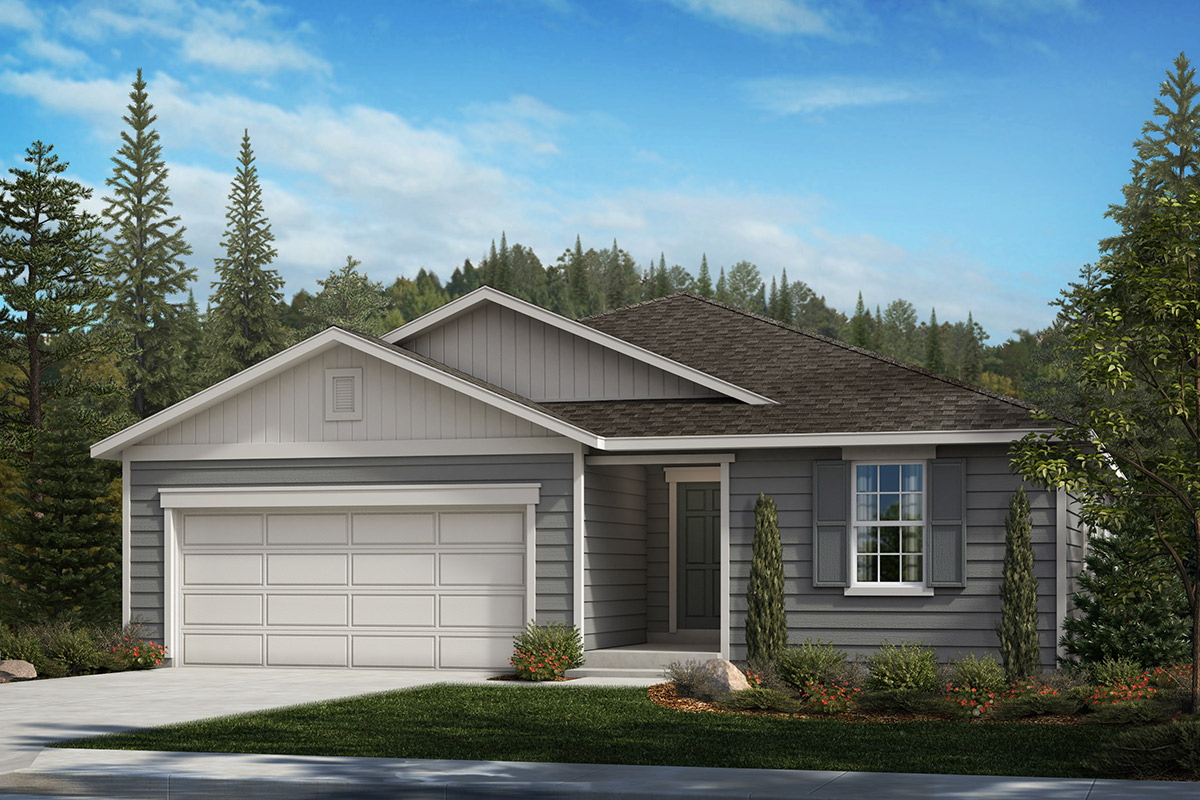 New Homes in Bonney Lake, WA - Falling Water Plan 1989 Elevation A