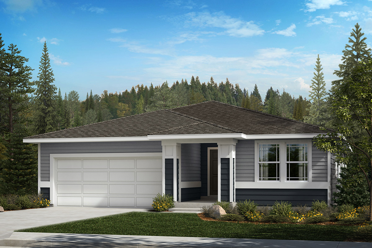 New Homes in Bonney Lake, WA - Falling Water Plan 1989 Elevation C