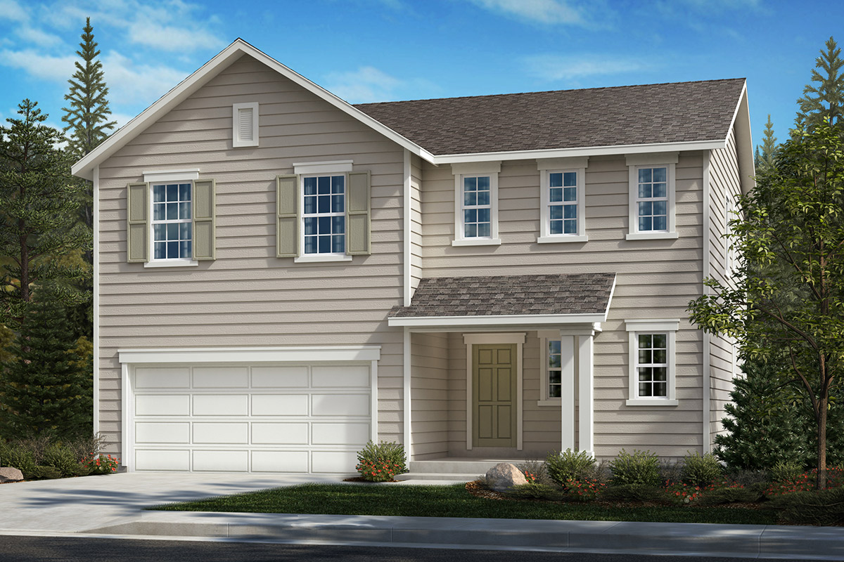 New Homes in Bonney Lake, WA - Falling Water Plan 2189 Elevation A