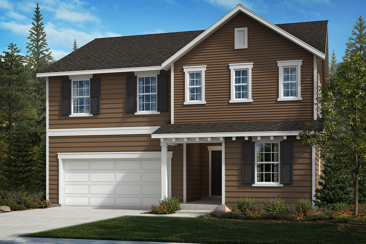 New Homes in Spanaway, WA - Cascade Vista Plan 2345 Elevation A