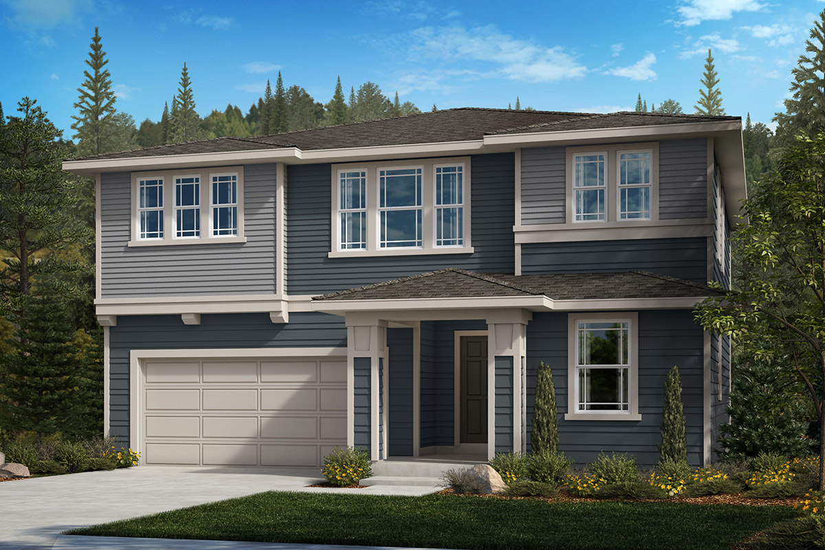 New Homes in Spanaway, WA - Cascade Vista Plan 2345 Elevation C