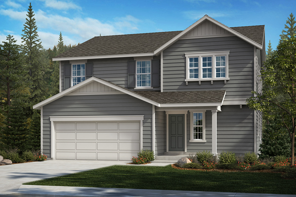 New Homes in Bonney Lake, WA - Falling Water Plan 2564 Elevation A