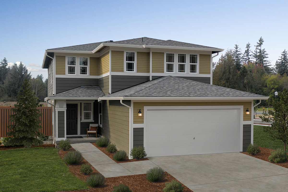New Homes in Lacey, WA - Woodland Creek Plan 2265 as modeled at Little Soos Creek