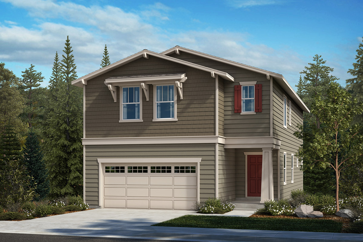 New Homes in Kent, WA - Elevation B