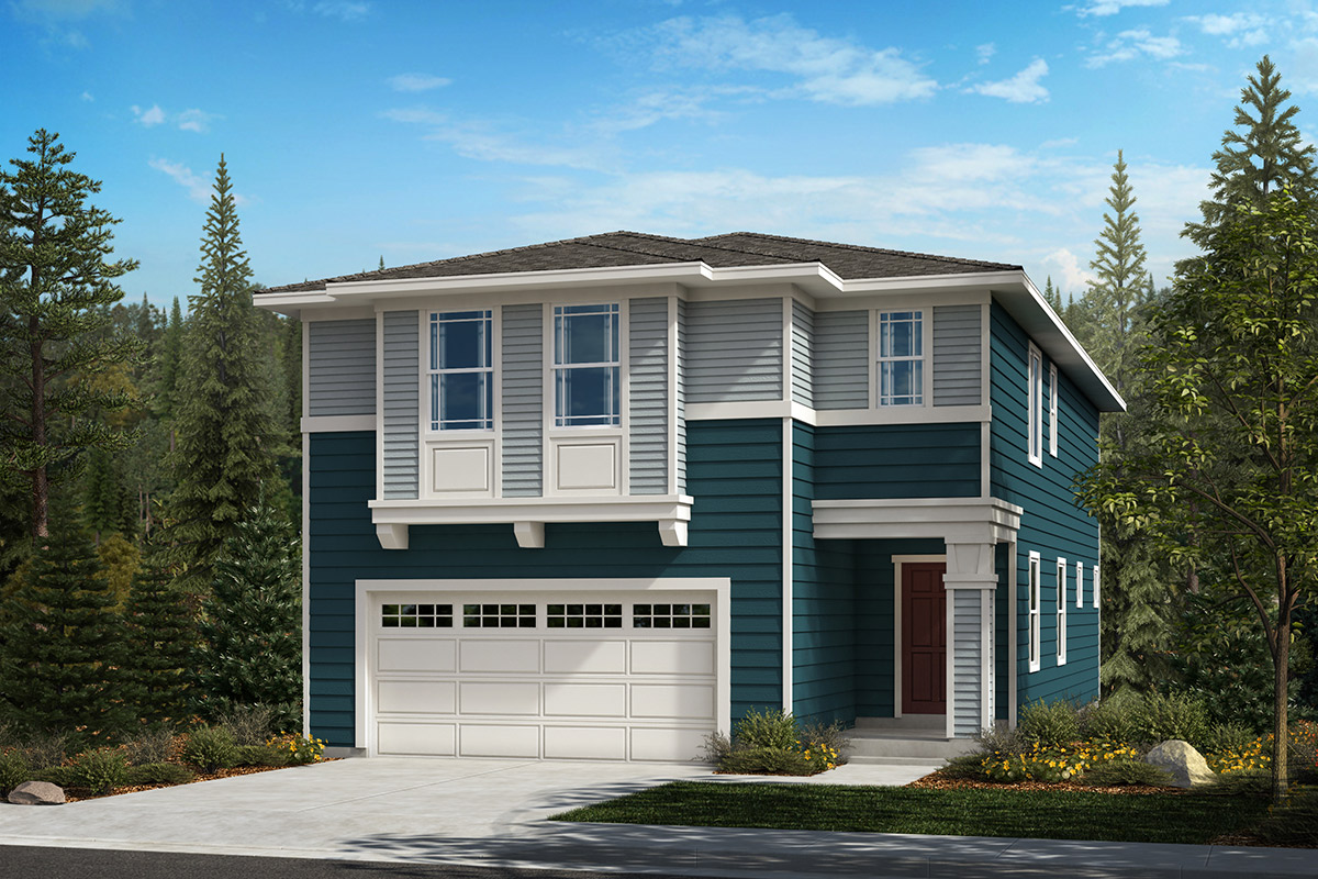 New Homes in Kent, WA - Elevation C