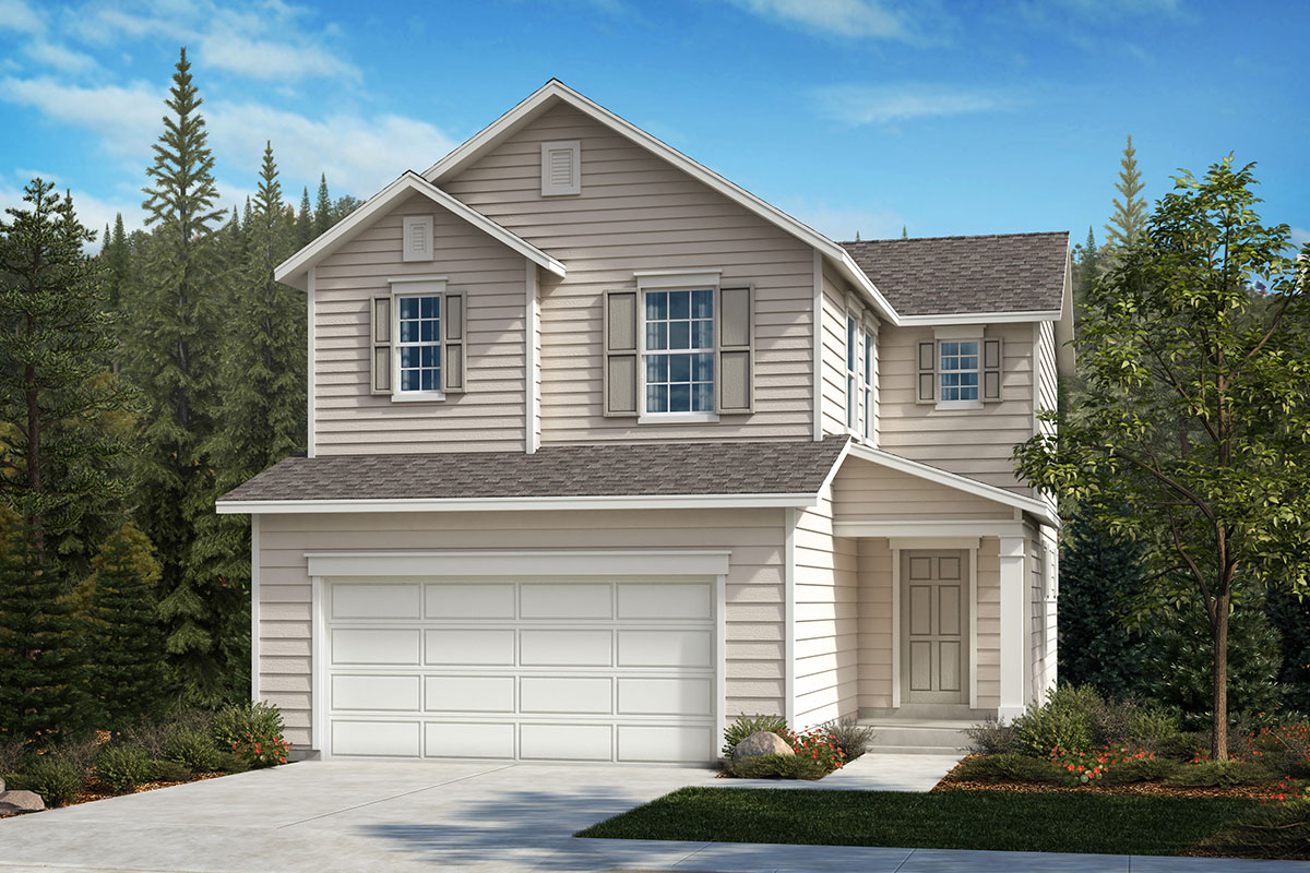 New Homes in Covington, WA - Tahoma Crest Plan 1565 Elevation A