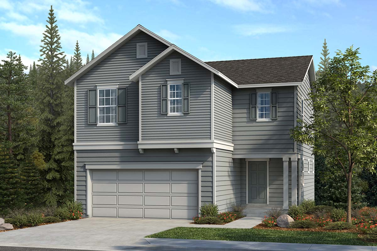 New Homes in Spanaway, WA - Elevation A
