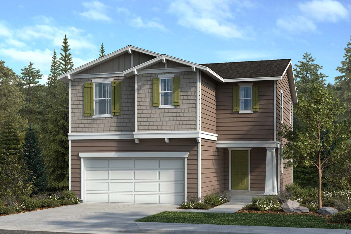 New Homes in Spanaway, WA - Elevation B