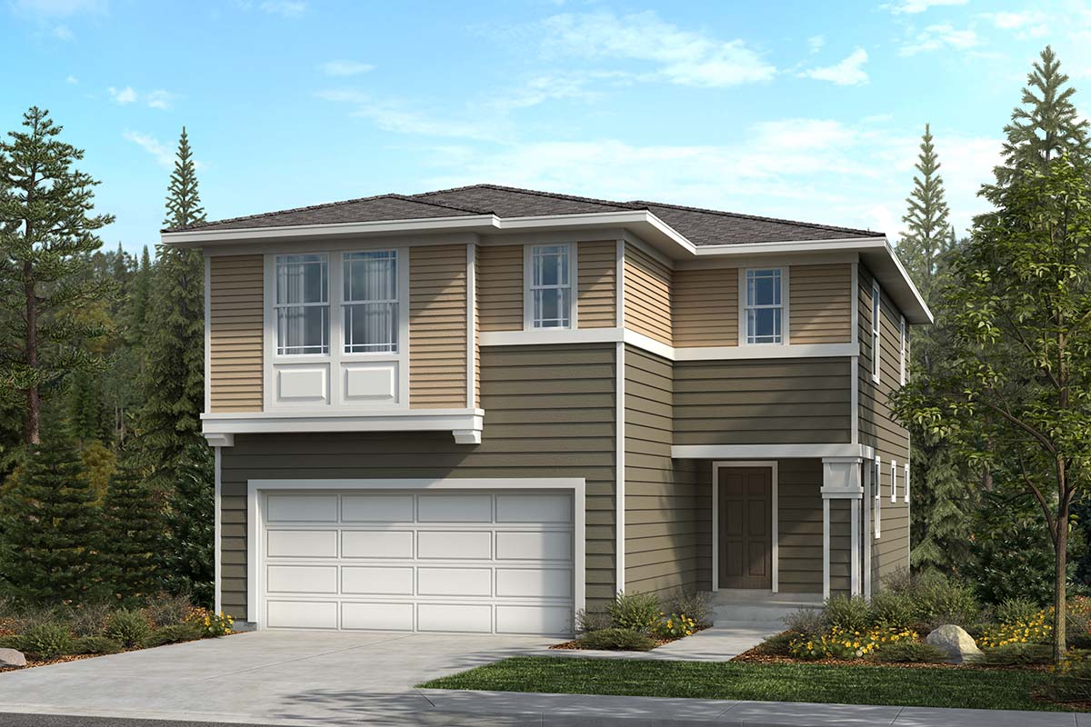 New Homes in Spanaway, WA - Elevation C