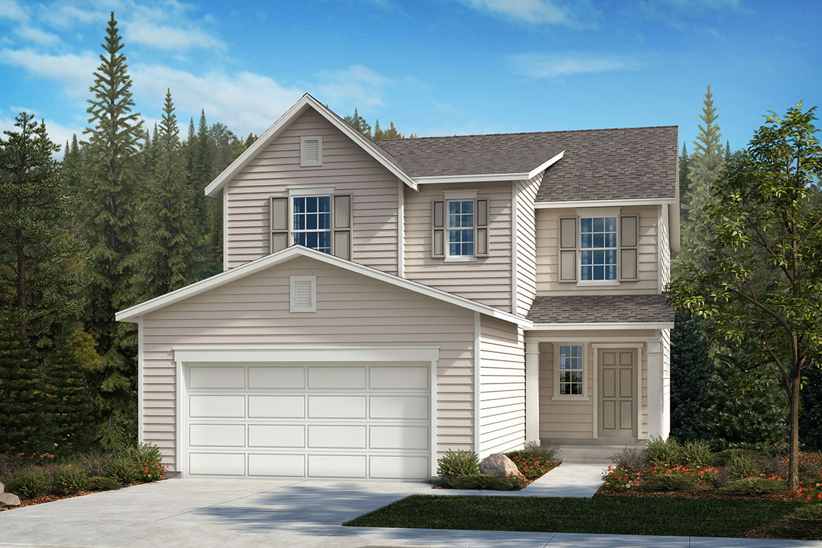 New Homes in Lacey, WA - Elevation A