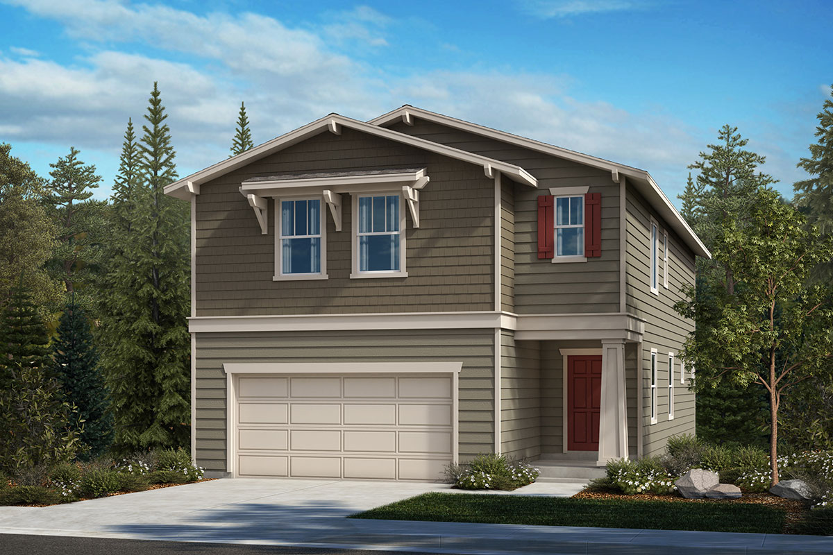 New Homes in Lacey, WA - Woodland Creek Plan 2328 Elevation B