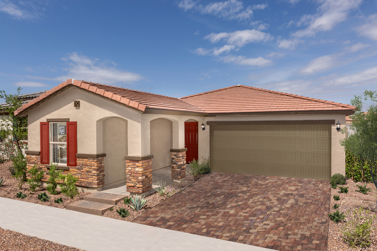 KB model home in Goodyear, AZ