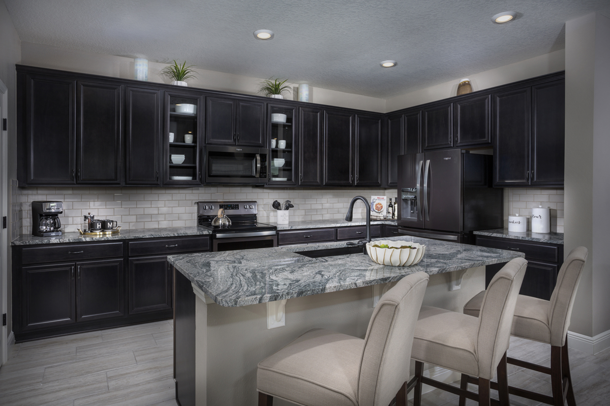 KB model home kitchen in Bradenton, FL