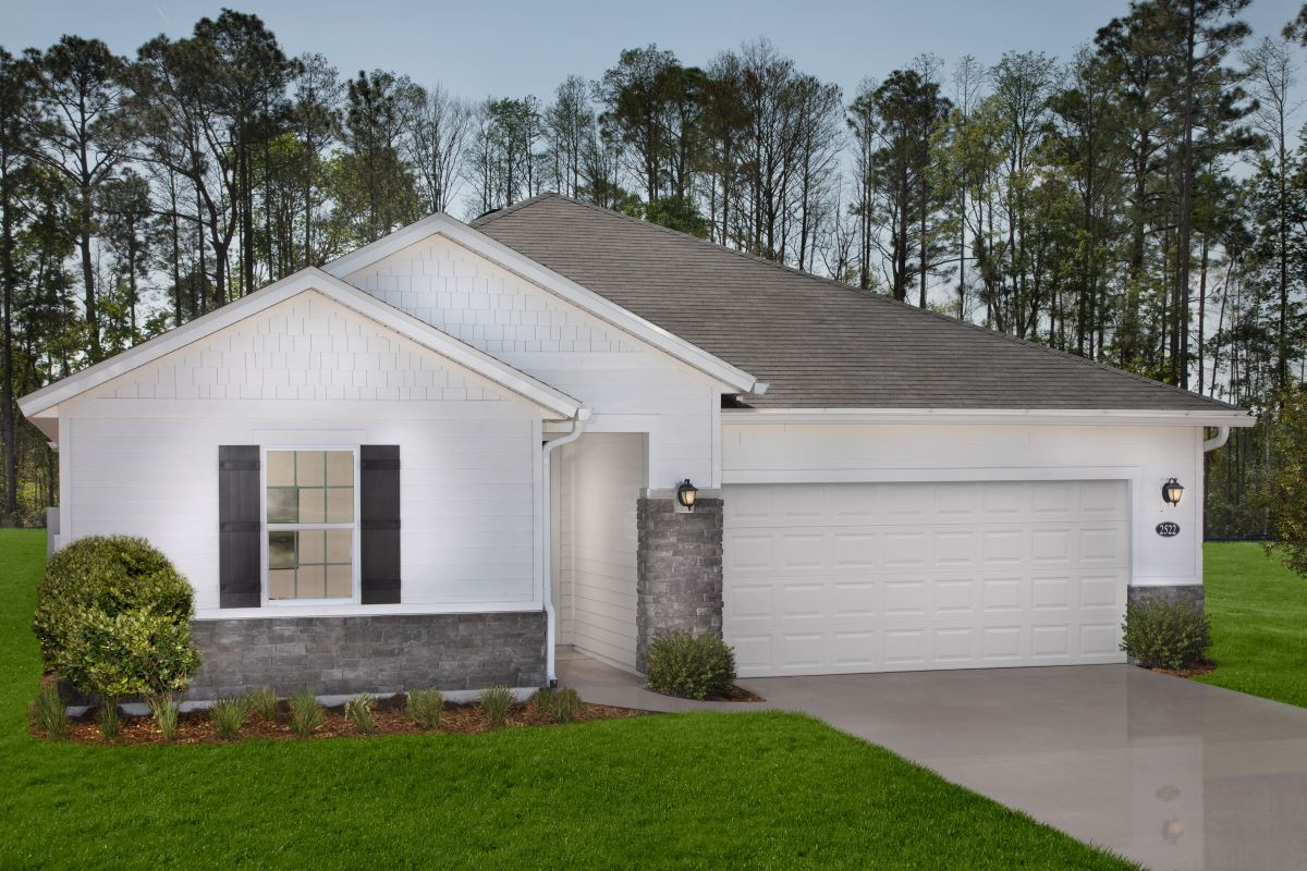 KB model home in Green Cove Springs, FL