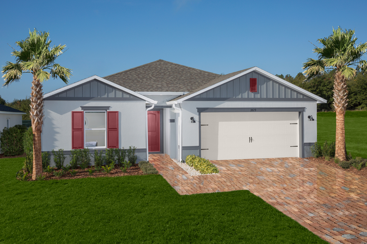 KB model home in Groveland, FL