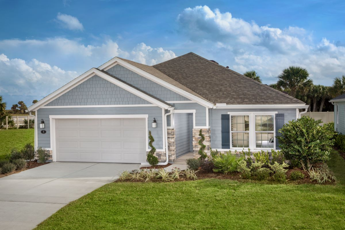 KB model home in Palm Coast, FL