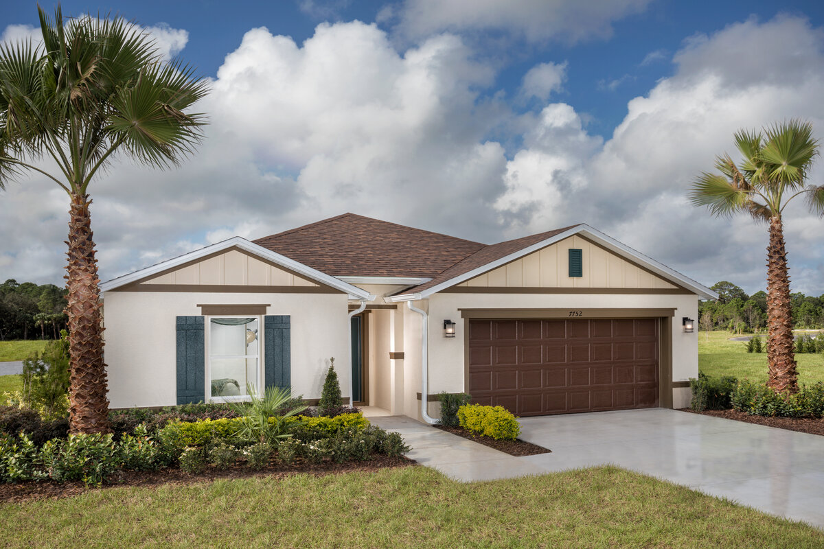KB model home in Titusville, FL
